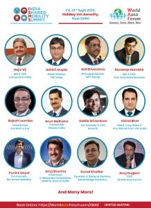 India Shared Mobility Summit by World Auto Forum   World