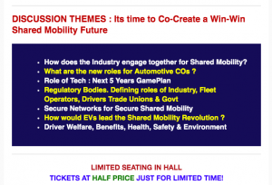 India Shared Mobility Summit by World Auto Forum | World Auto Forum